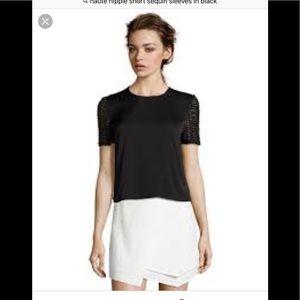 Haute Hippie short sleeved blouse